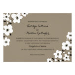 Modern Anemone | Wedding Personalized Announcements
