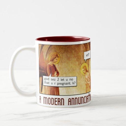 Modern Annunciation Coffee Mug Zazzle