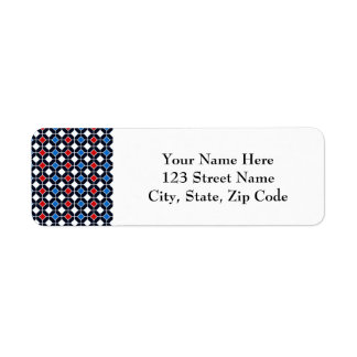 Modern Antique Tiles Pattern Design in Blue Label
