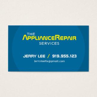 Modern Appliance Repair Business Cards Template