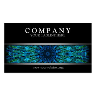 Modern Aqua Explosion Double-Sided Standard Business Cards (Pack Of 100)