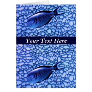 Modern Aquarium Card