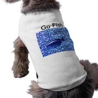 Modern Aquarium Dog Tee