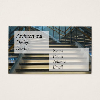 Modern Architectural Design Business Card