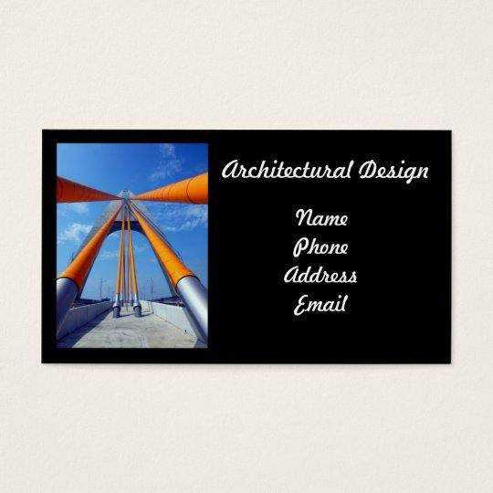 Modern Architectural Design Business Card