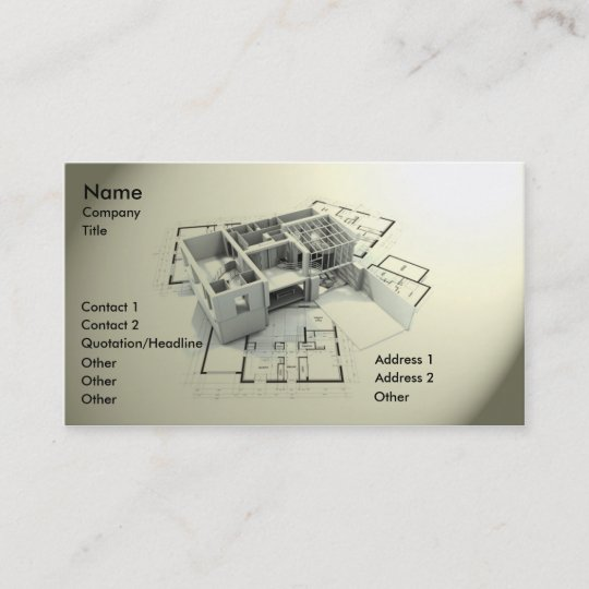Modern architecture business card zazzle modern architecture business card colourmoves