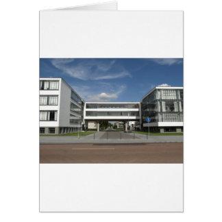 Modern Architecture Dessau Germany South Berlin Card