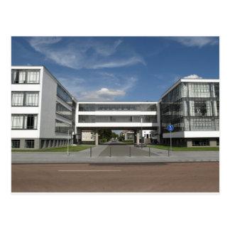 Modern Architecture Dessau Germany South Berlin Postcard