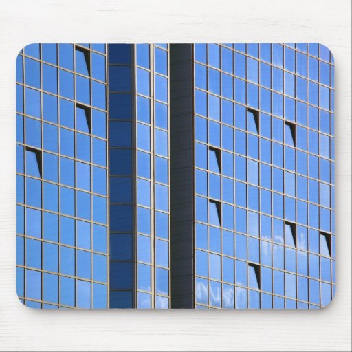 modern architecture mouse pad