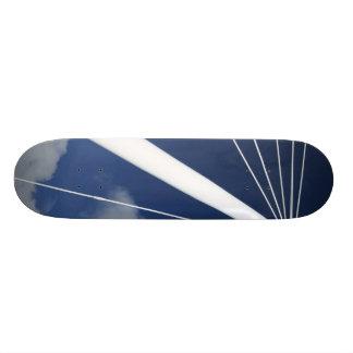 Modern architecture skateboard