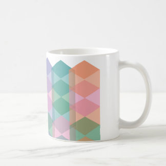 Modern Argyle Coffee Mug