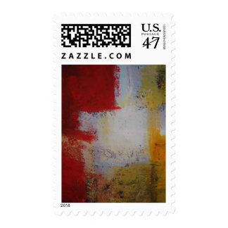 Modern Art - Abstract Art Painting Postage