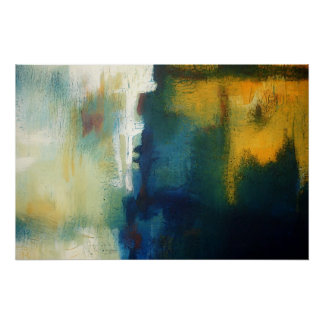 Modern Art Abstract Painting Art Print Poster