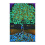Modern Art Abstract Tree of Life Canvas Print (<em>$86.60</em>)