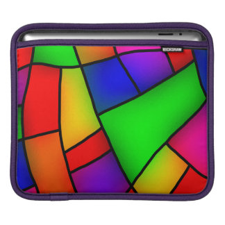 Modern Art, Artistic Colorful Mosaic Sleeve For iPads