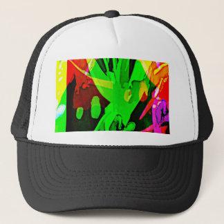 Modern Art Bird of Paradise Trucker Hat