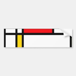 Modern Art Bumper Sticker