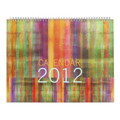 Modern Art Calendar 2012