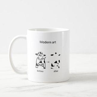 Modern art Caofline Coffee Mug