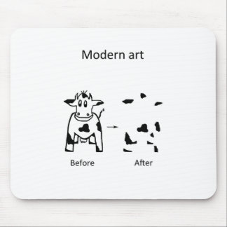 Modern art Caofline Mouse Pad