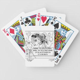 Modern Art Cartoon 1365 Bicycle Playing Cards