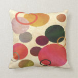 Modern Art Circles Pillow