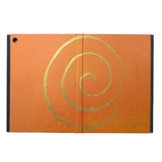 Modern Art Color Fields Orange Gold Elegant Design iPad Air Cover