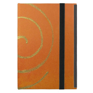 Modern Art Color Fields Orange Gold Elegant Design iPad Mini Cover