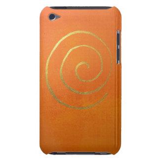 Modern Art Color Fields Orange Gold Elegant Design iPod Touch Cover