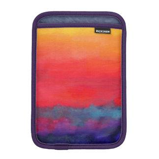 Modern Art Colorful Abstract Painting iPad Mini Sleeves