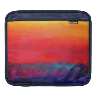 Modern Art Colorful Abstract Painting iPad Sleeves
