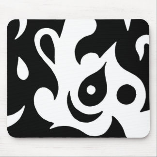 "Modern Art Contrast-""Form and Function"" Mouse Pad"