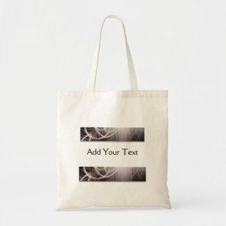 Modern Art Cubes and Swirls Tote Bag