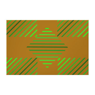 Modern Art Deco. Gallery Wrap Canvas