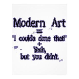 Modern Art Flyer