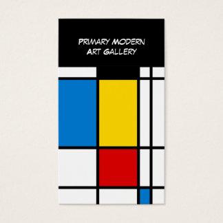 Modern Art Gallery Business Card