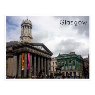 modern art gallery  glasgow postcard