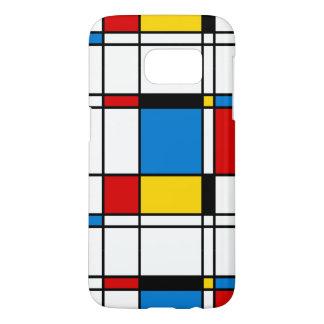 Modern Art Geometric Samsung Galaxy S7 Case