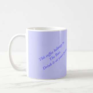 Modern Art Harbor Scene, customize text Mug