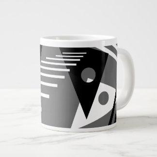 Modern Art Large Coffee Mug