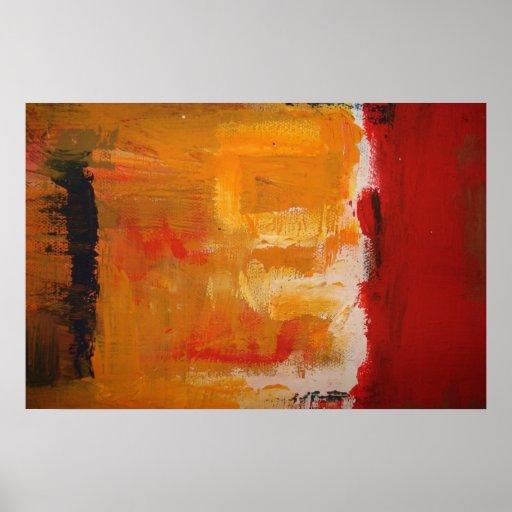 Modern art minimalist abstract art poster