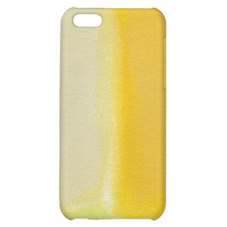 Modern art minimalist painting sunny warm colorful iPhone 5C case