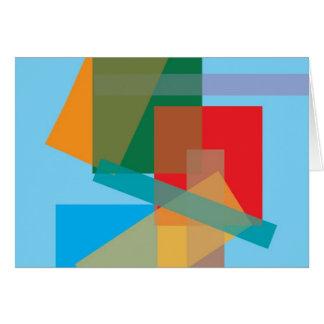 Modern Art Note Card