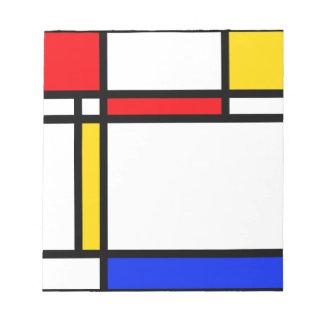 Modern Art Notepad