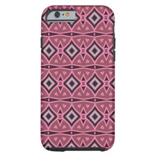 Modern art pattern tough iPhone 6 case