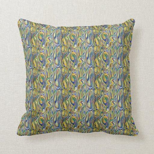 Modern art pillows