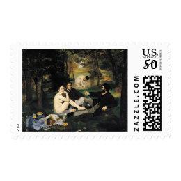 Modern Art Postage Stamp