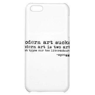 Modern Art Sucks iPhone 5C Cases