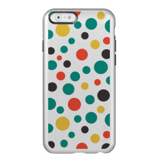 Modern Artistry Stylish Mix Size Colorful Dots Incipio Feather® Shine iPhone 6 Case
