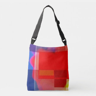 Modern As can be.  COLOR BLOCK ABSTRACT TOTE